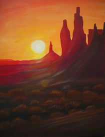 Monument Valley von Christine Huwer