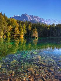 Herbst an der Zugspitze von Michael S. Schwarzer