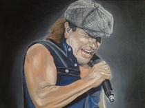 Brian Johnson von AC-DC by Mario Sturm