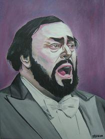 Luciano Pavarotti von Mario Sturm
