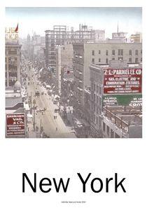 New York Panorama by Willi Halbritter