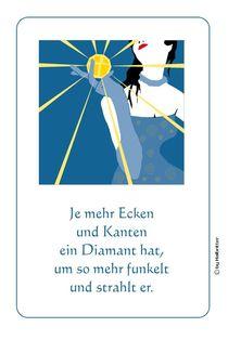 Woman with the diamant von Willi Halbritter