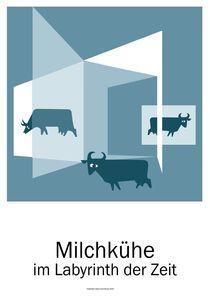 Milchkühe im Labyrinth der Zeit von Willi Halbritter