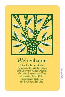 Der Weltenbaum von Willi Halbritter