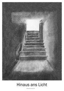Hinaus ans Licht von Willi Halbritter