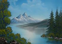 Berg See von Bruno Santoro