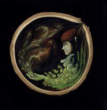 träumender Wichtel von Eva-Maria Oeser