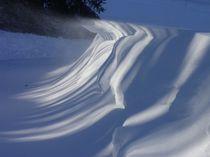 Schneewehe von Eva-Maria Oeser