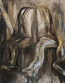 im Atelier von Christine Lamade