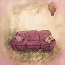 Sofa im Kornfeld von lamade