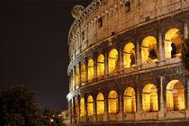 Colosseo con luna von Dan Kollmann