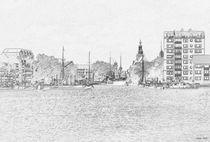 Emden - Blick auf den Ratsdelft by staebe