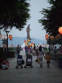 Macau Abendstimmung im Park by shei