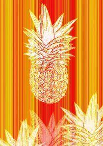 Ananas von Valérie Salvetti