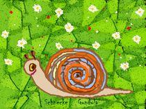 Serie kinderzimmer Schnecke Gundula by Susanne Surup