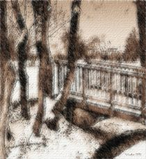 The bridge- Dransfelder Brücke im Winter by Susanne Surup
