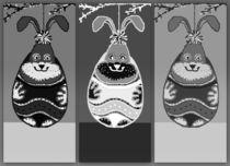 Hanging Bunny von Susanne Surup