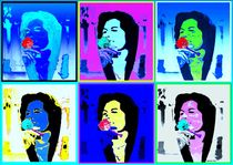 Pop Art Rose von Susanne Surup