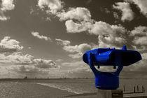 Blauer Fernblick - Blue distant view by ropo13