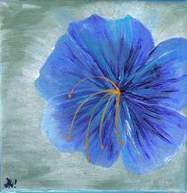 blaue Blume von Jeanette Horlbeck