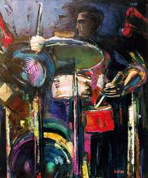 Schlagzeuger by Ria den Breejen