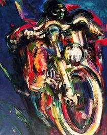Motorradfahrer by Ria den Breejen