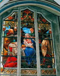 Kirchenfenster by Ria den Breejen
