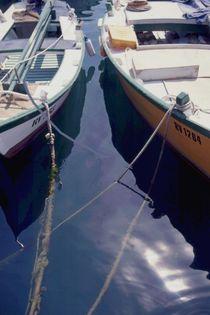 Boote im Wasser von Wildis Streng