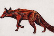 Zeichnung Fuchs by Wildis Streng