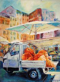Marktplatz in Rom von Ulla Schönhense