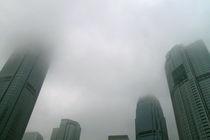 Hong Kong smog von Oliver Gräfe