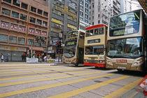 Bus Parade von Oliver Gräfe