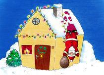 Frohe Weihnachten! by Olga Hopfauf