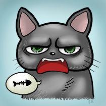 Bad Cat by Olga Hopfauf