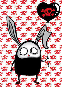 dead bunny by Olga Hopfauf