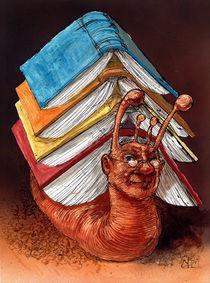 Bücherschneck by Rainer Ehrt