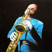 der Saxophonist von Karin Stein