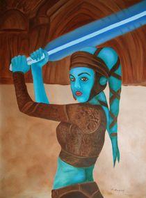 die Geschichte vom Star Wars by theresa-digitalkunst