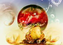 der träumende glasfrosch by nora gharbi