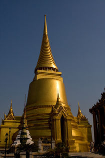 Golden Chedi in the Royal Palace in Bangkok