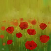 field of poppies von raziel