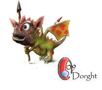 Dorght (little dragon) von Vasiljevic Sasa