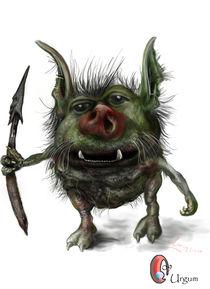 Urgum (goblin) by Vasiljevic Sasa
