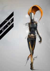 Anubi of The olympian guards by Mehran khan