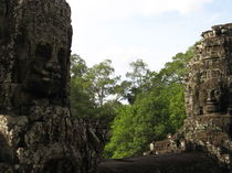 The Bayon, Cambodia by firefly