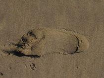 Deine Spur im Sand by Anne Rösner-Langener