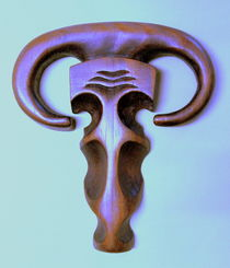 Schamanen-Amulett von Eugen Heinz