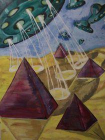 Pyramidenlandschaft  by Anett Lehmann