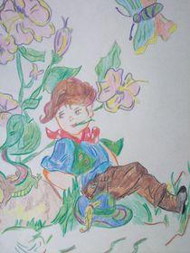 Blumenkind von Anett Lehmann