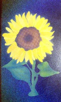 Sonnenblume von Edmond Marinkovic